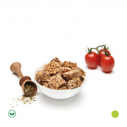 Carrés de Granola à la Tomate & Origan