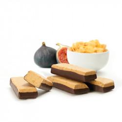 Barre Céréales Figues  -  socle Chocolat