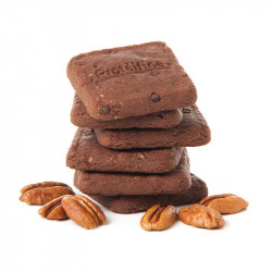Biscuit Croquant Brownie – Noix de Pécan