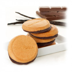 Dynovance Biscuits Vanille socle Chocolat