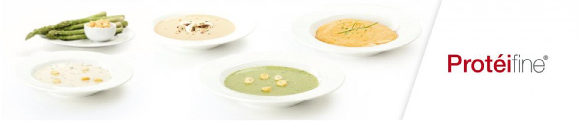 Soupes, Crèmes et Potages Protéifin